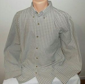 Chaps Button Down Long Sleeve Shirt. XL